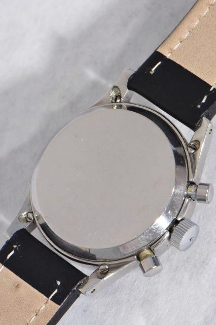 seltener chronograph im patentiertem clamshell geh use brevet 189190 venus 150 ebay. Black Bedroom Furniture Sets. Home Design Ideas